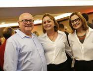Francisco Furlani, Rosangela Furlani e  Fernanda Furlani