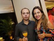 Marcelo Braga e Alexandra Souza
