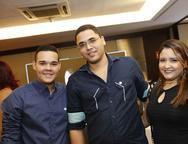 Lucas Lima, Manoel Lima e Paula Souza
