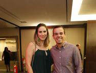 Nathalia Mesquita e Vitor Araujo