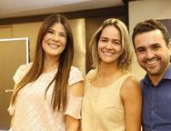 Patricia Kalderon, Raquel Felismino e Marcos Albuquerque