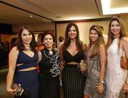 Alda Oliveira, Emilse Barros, Juliana Barros, Emilse Ximenes e Elaine Araujo