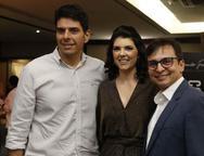 Roberto Neves, Barbara Furlani e Eduardo Furlani