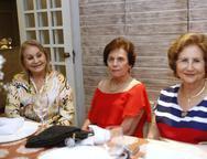 Glaydes Barreira, Liliane Nogueira e  Lucia Madeira