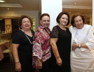 Mana Holanda , Zenaide Bezerra, Barbara Freire, e Dayse Machado