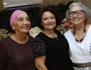 Hortência, Bárbara Freire e Dina Gualberto