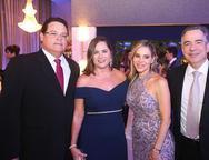 Paulo e Carmen Arrais, Sandra Rocha e Rocha Neto