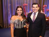 Priscila Lima e Paulo Magalh�es