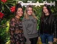 Manuella Viscardi, Giovanna Lobanco e Thaisa Thome