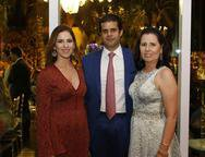 Carolina , Bruno Borges e Elizabete Rodrigues