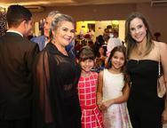 Dila Gomes, Paula Gomes, Gabriela e Lara Santiago
