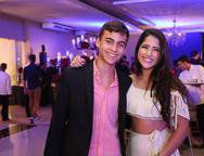 Lucas Sales e Beatriz Gondim