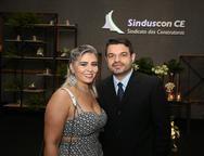 Tatiane e Rodolfo Santos