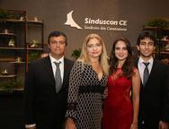 Evaristo, Lia Beatriz e Ana Carolina e Carlos Eduardo Barros