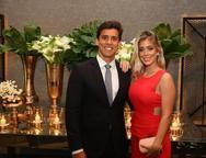 Felipe Holanda e Maria Clara Boris