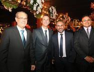 Paulo Pepino, Augusto Sousa, Weberton Sá e Naigro Andrade