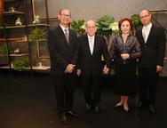 Silvio Junior, Silvio, Poliana e Márcio Campos