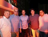 Airton Fernandes, Valder Ary,Vitor Frota, Ricardo Ary e Felipe Goyan