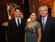 Fernando, Fernanda e Raimundo Camilo