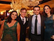 Janini Maia, Rafael Amaral, Leandro Aquino e Fernanda Lima