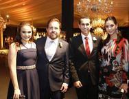 Larissa Fac�, Carlos Mesquita, Domingos Neto e Livia Aguiar