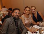 Lindomar Pessoa, Carla e Celene Caracas