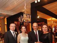 Romildo e Liduina Frota, Marcelo e Eliane Abreu