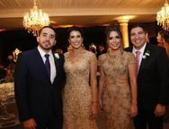 Yuri Pessoa, Rana Monteiro, Larissa Reis e Diego Pereira
