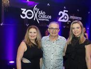 Eliana Cardoso, Cesar Franco e Surama Larrat