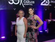 Ivoneide Batista e Victoria Gabriela