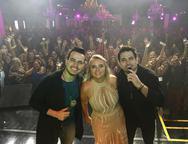 Gabriel, Marcia Real e Luis Marcelo