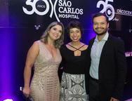 Helen Pinheiro, Paula Pinelli e Paulo Sousa