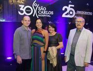 Marcelo e Luciana Rangel, Elenira e Joao Marinho