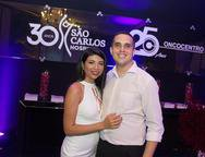 Nadia Silva e Marcos Ribeiro