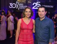 Tais Soares e Joao Fla¡vio Nogueira