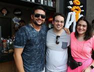 Flavio Lopes, Thiago e Liz Arcoverde