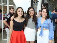 Nyara Cavalcante, Mariana Amorin e Mayara Matos