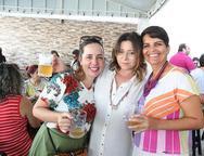 Veronica Castelo Branco, Candida Lopes e Renata Moraes