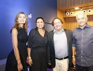 Laura Paiva, Claudia Martins, Everton Fernandes e Geovanne de Oliveira