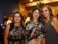 Valeria Saraiva,  Rejane Gomes e  Beatriz Athayde