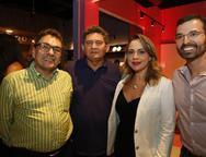 Airton Gonçalves , Francisco Alberto, Georgia Philomeno e TomFilho