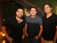 Abner Castro, Wagner Arruda e Mauro Diniz