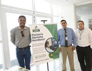Jerferson Brasil,  Theury  Queiroz, e Fernando Siqueira