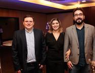 Cristian Lopes, Helaine Tahim e Jorge Almeida