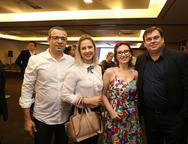 Felipe Abelha, Virginha Marques, Claudia Gutierres e Marcelo Soares