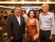 Claudio Ricardo, Valéria Xavier e Ricardo Liebmann