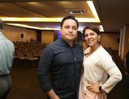 Fernando Ribeiro e Liciane Maia