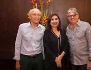 Ricardo Libman, Neila Fontenele e Mario Gurjão
