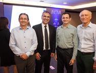 Ozair Gomes, Eduardo Neves, Mauricio Brito e Ricardo Liebmann