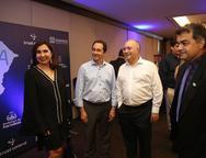 Neila Fontenele, Isair Gomes, Elano Gadelha e Michel Araújo